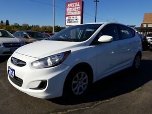 2014 Hyundai Accent GLS LOCAL ONTARIO VEHICLE !!  ONE OWNER !!