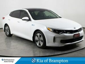 2017 Kia Optima Hybrid EX. PREMIUM. NAVI. LEATHER. ROOF. HTD SEA