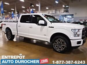 2015 Ford F-150 LARIAT AWD AUTOMATIQUE - NAVIGATION - CUIR