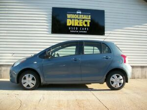 2007 Toyota Yaris AUTO HATCH WITH ONLY 139K