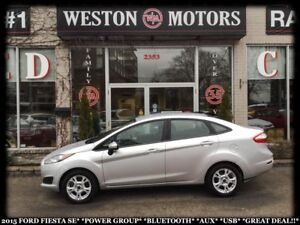 2015 Ford Fiesta SE*PWR GROUP*BLUETOOTH*AUX*USB*GREAT DEAL!!*