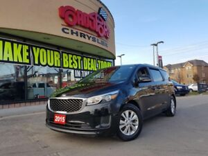 2015 Kia Sedona LX POWER DOORS H-TED SEATS REAR CAM ALLOYS