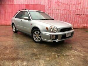 2001 Subaru Impreza MY01 RX (AWD) Silver 5 Speed Manual Hatchback