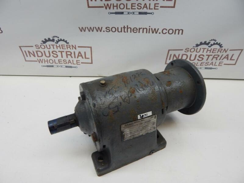 """SEW Eurodrive R60LP143 Speed reducer 37.55:1 Ratio 2120 Torque   1.250"""" out 0.87"""