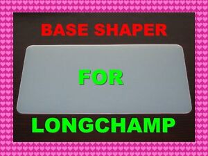 White-Base-shaper-4-Longchamp-Le-Pliage-Long-Handle-L