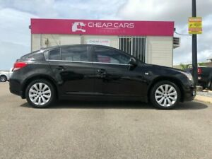 2012 Holden Cruze JH Series II MY12 CDX Black 6 Speed Sports Automatic Hatchback Garbutt Townsville City Preview