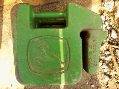 John Deere Stamped Green Suitcase Weights For Tractors Skid Steers Etc. R66949