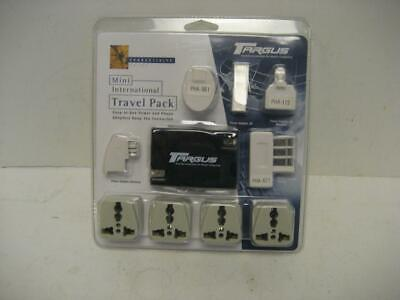 NEW Targus PA025U Mini International Travel Pack - Power and Phone Adapters NIP International Travel Power Pack