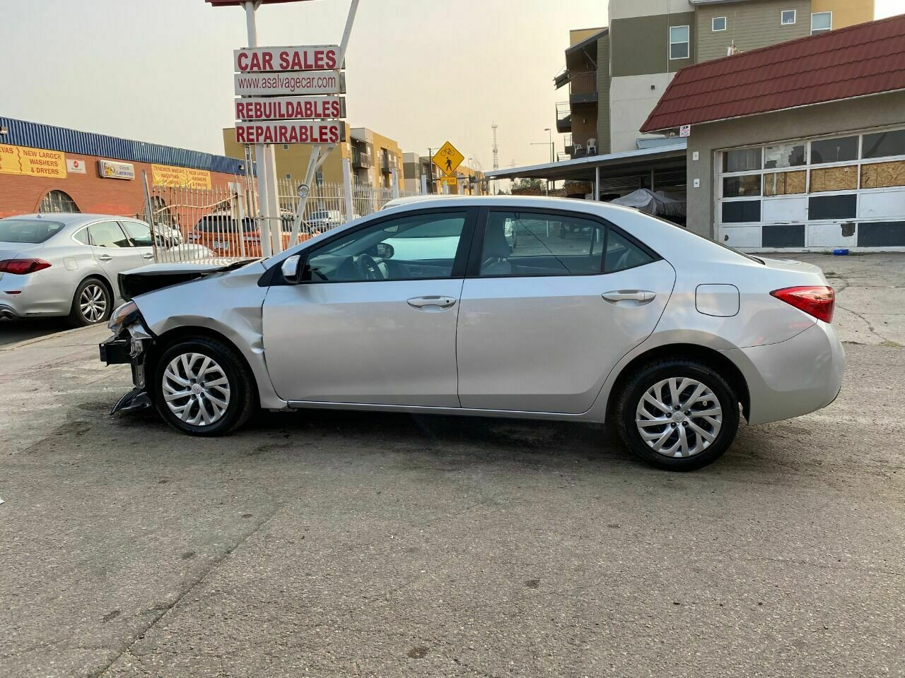 2018 Toyota Corolla, Silver with 17424 Miles available now!