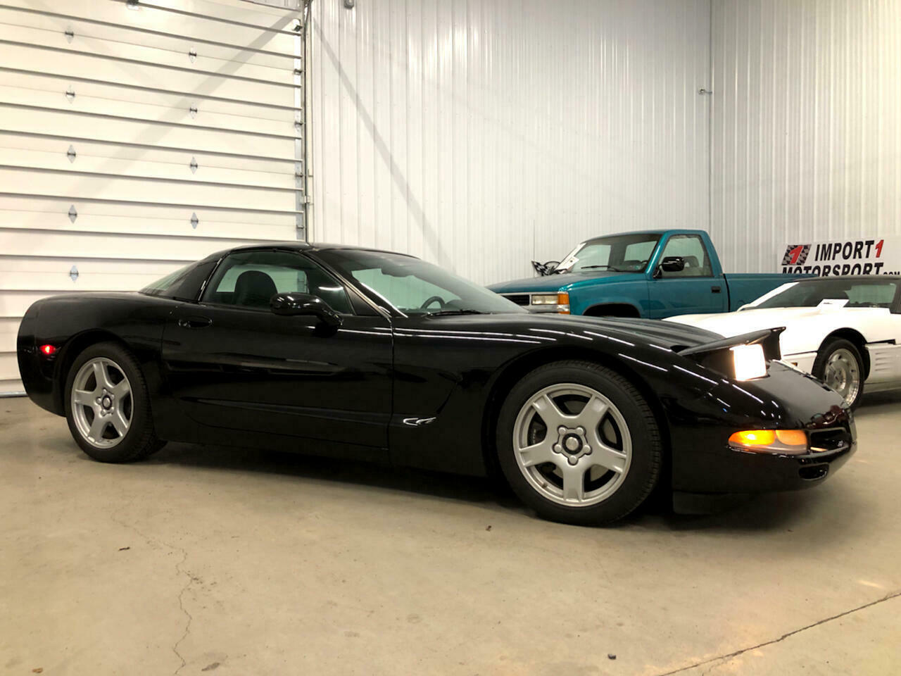 1999 Black Chevrolet Corvette Coupe  | C5 Corvette Photo 2