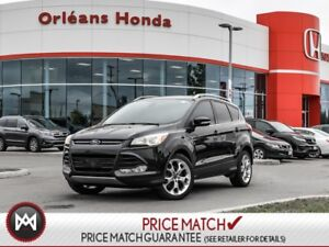 2015 Ford Escape Titanium 4WD LEATHER, EXT WARRANTY TO MARCH 202