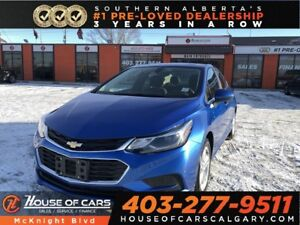2017 Chevrolet Cruze LT / Sunroof / Back Up Cam / Navi