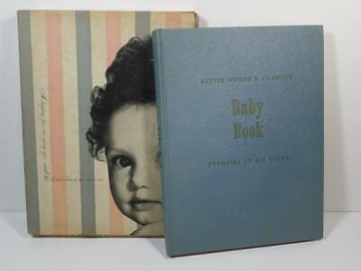 Vtg 1948 Better Homes & Gardens Baby Girl Book To 6 Yrs ~ Handbook & Record