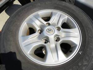 Toyota Land Cruiser Rims x4 Currumbin Waters Gold Coast South Preview