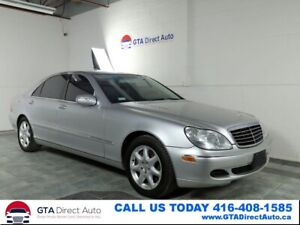 2004 Mercedes Benz S-Class S550 4Matic Nav Sunroof Leather Xenon