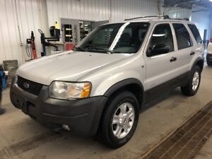 2002 Ford Escape XLT 4X4 CUIR TOIT OUVRANT