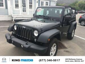 2014 Jeep Wrangler Sport- $199 B/W