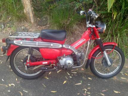 2000 Honda CT110 Postie Bike Frenchs Forest Warringah Area Preview