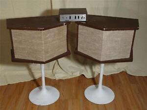 VINTAGE-BOSE-901-SPEAKERS-W-MATCHING-EQUALIZER-AND-STANDS-SERIES-1