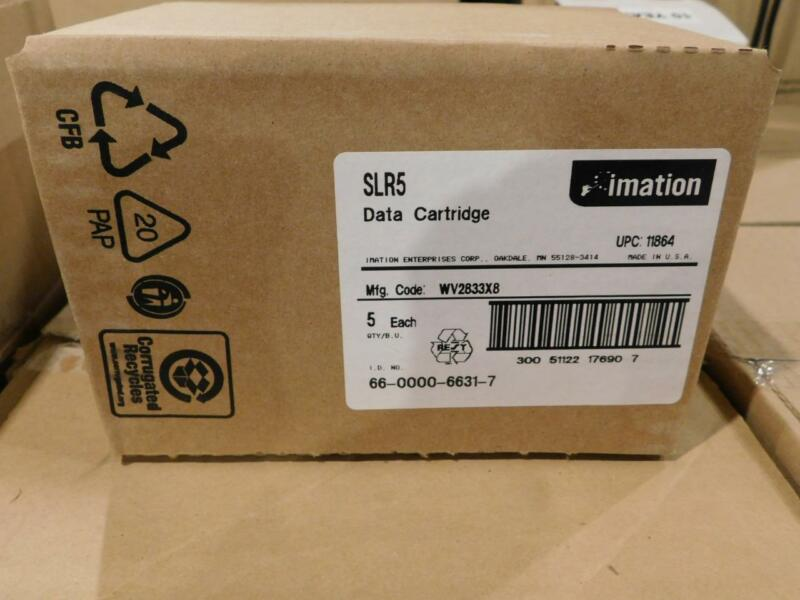 Lot of 5 - NEW/SEALED Imation SLR5-8GB Data Tape Cartridge (LEV)