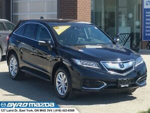 2018 Acura RDX RDX BASE4 AWD! ONE OWNER, NO ACCIDENTS!