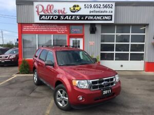 2011 Ford Escape XLT V6 4X4 NO ACCIDENTS!