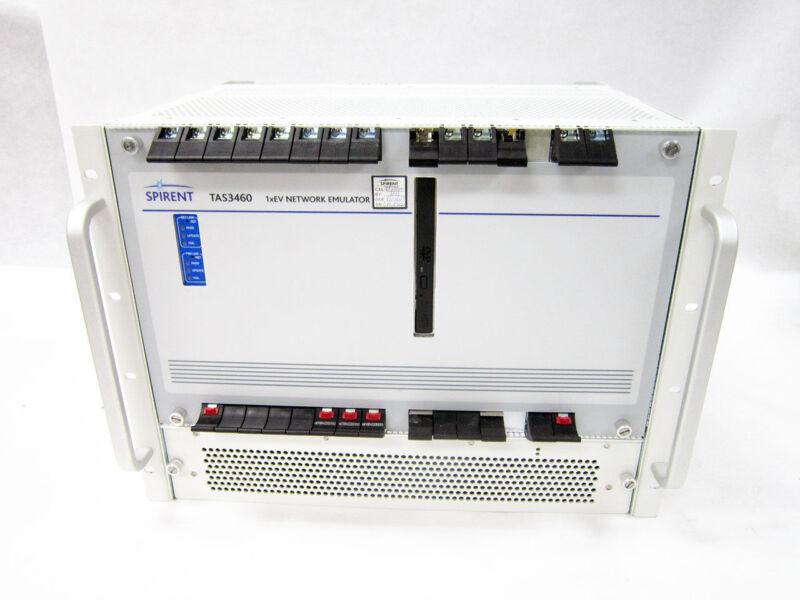 SPIRENT TAS3460 1XEV NETWORK EMULATOR XTREAMLINK CPCI1206 EEA-01 ACP-PMB XL-CXP