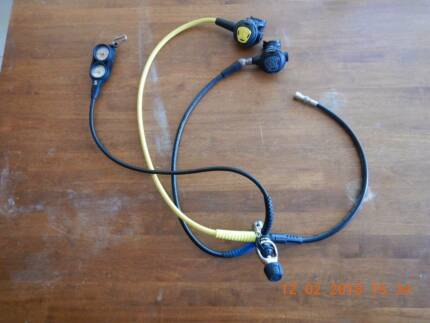 SCUBA Regulator Full Set - Perfect Condition