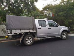 2007 Nissan Navara Ute Naremburn Willoughby Area Preview