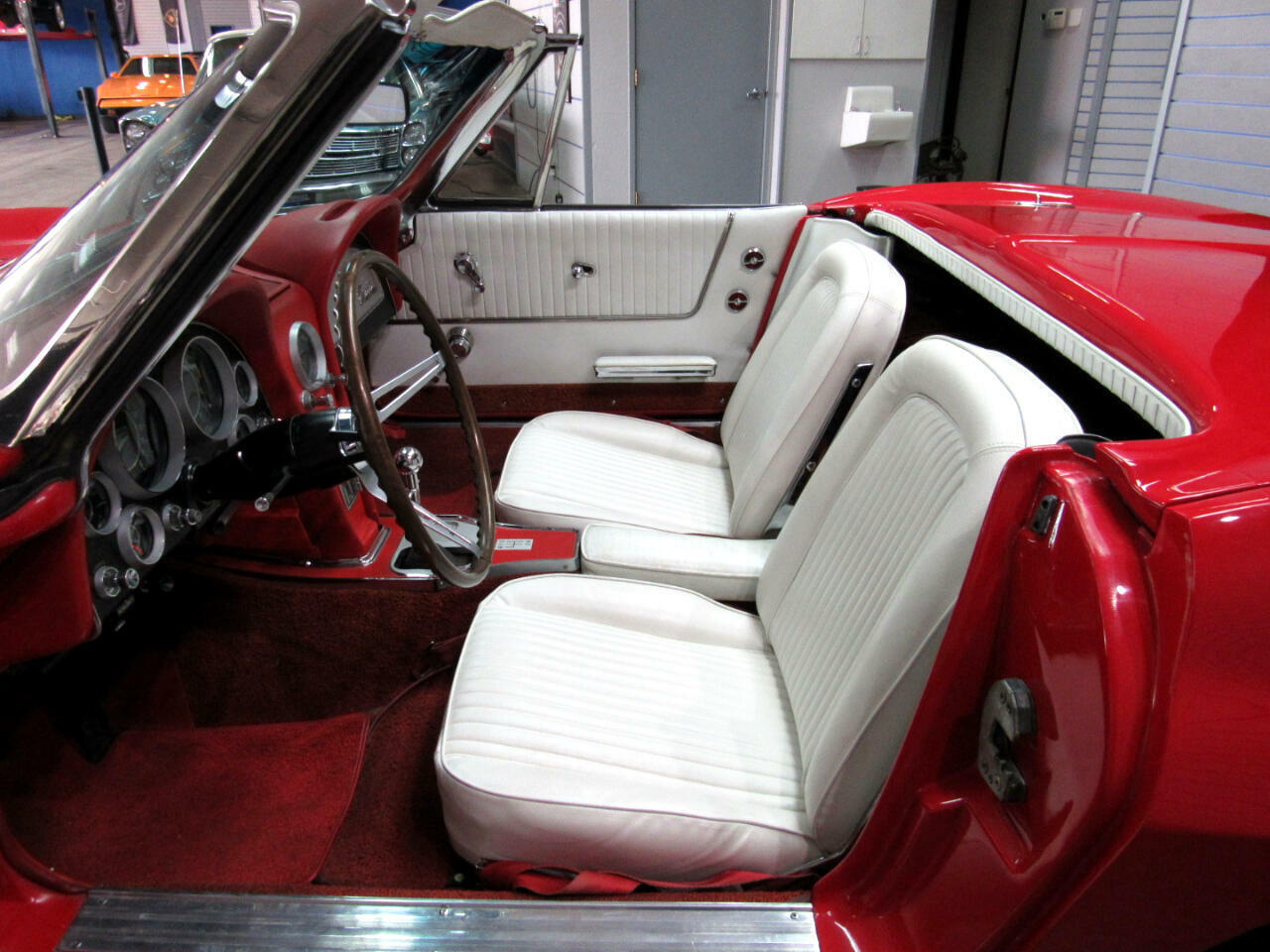 1964 Red Chevrolet Corvette Convertible  | C2 Corvette Photo 8