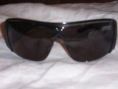 JUST CAVALLI authentic sunglasses Black frame with stitch design New in Case