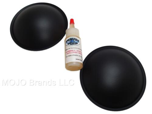 "2 Piece 4.5"" Poly Dome Speaker / Subwoofer Dust Cap Kit - 2DCPL45G"