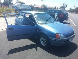 RELIABLE and well-kept Toyota Starlet Hatchback! Northcote Darebin Area Preview