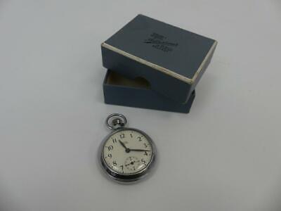 (ref288BF) Smiths Empire Pocket Watch in Belfast Case Working