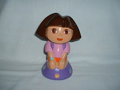 Dora Toy Box - DORA THE EXPLORER Plastic Money Box Coin Bank Figure Toy (NICKELODEON/NICK JR)