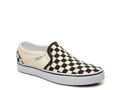 Vans Asher Woman's Checkerboard Slip On Casual Shoes