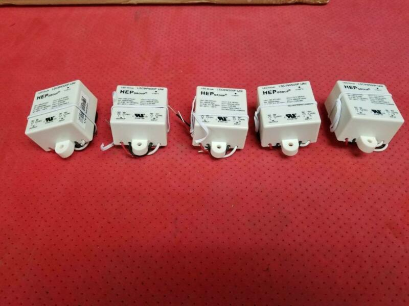Lot of 5 HEP LSC9W500P UNI 9W LED Driver