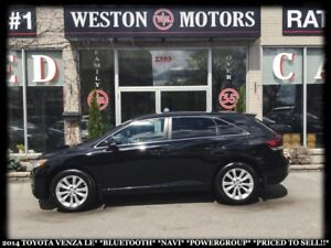 2014 Toyota Venza LE*BLUETOOTH*NAVI*POWER GROUP*PRICED TO SELL!!