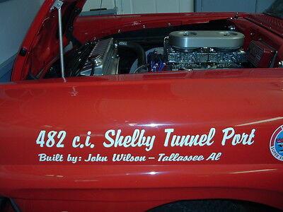 FORD FE 482 c.i. ENGINE FOR SALE .. IS IN A 1957 FORD 70D Y BLOCK 312 D F COBRA