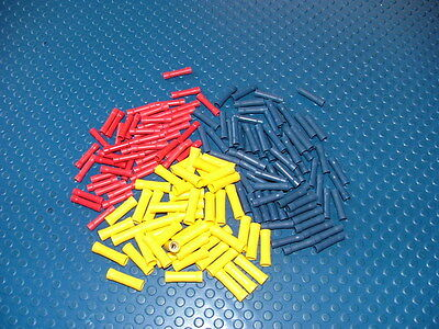 ASSORTED INSULATED STRAIGHT BUTT CONNECTORS CRIMP TERMINALS CABLE/WIRE UK SELLER