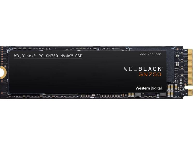 Western Digital WD BLACK SN750 NVMe M.2 2280 500GB PCI-Express 3.0 x4 64-layer 3