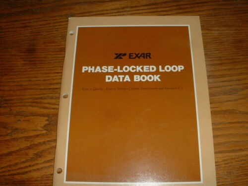 Vintage Electronics Data Books from Exar and Toko