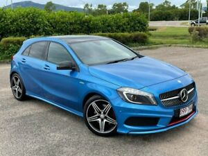 2013 Mercedes-Benz A-Class W176 A250 D-CT Sport Blue 7 Speed Sports Automatic Dual Clutch Hatchback Garbutt Townsville City Preview