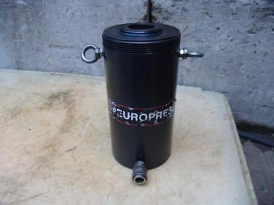 Europress Cmf60n150 10000 Psi Single Acting Hollow Hydraulic Cylinder