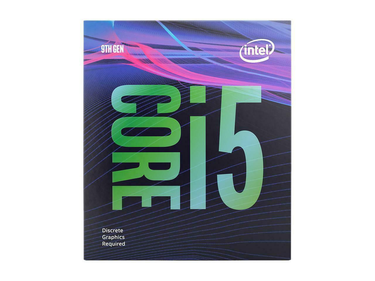 NEW Intel Core i5-9400F Coffee Lake 6-Core 2.9 GHz (4.10GHz Turbo) LGA 1151 CPU