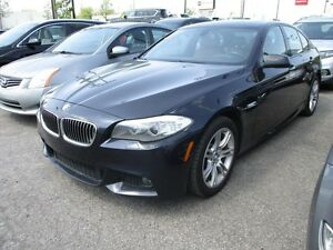 2013 BMW 5 Series 528i xDrive MPACKAGE NAVIGATION TOIT