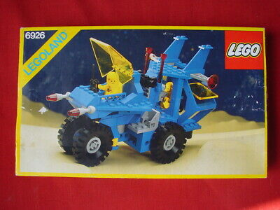LEGO SPACE 6926 MOBILE RECOVERY VEHICLE -100% COMPLETE RARE VINTAGE BOXED SET