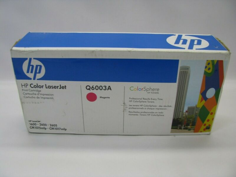 HP LaserJet Q6003A Magenta Toner Print Cartridge *New Sealed*