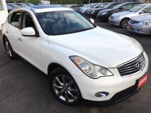 2008 Infiniti EX35 AUTO/LEATHER/SUNROOF/ALLOYS/AWD/FOGS/HEATED S