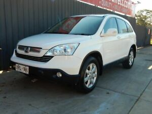 2007 Honda CR-V RE MY2007 Luxury 4WD White 5 Speed Automatic Wagon Blair Athol Port Adelaide Area Preview